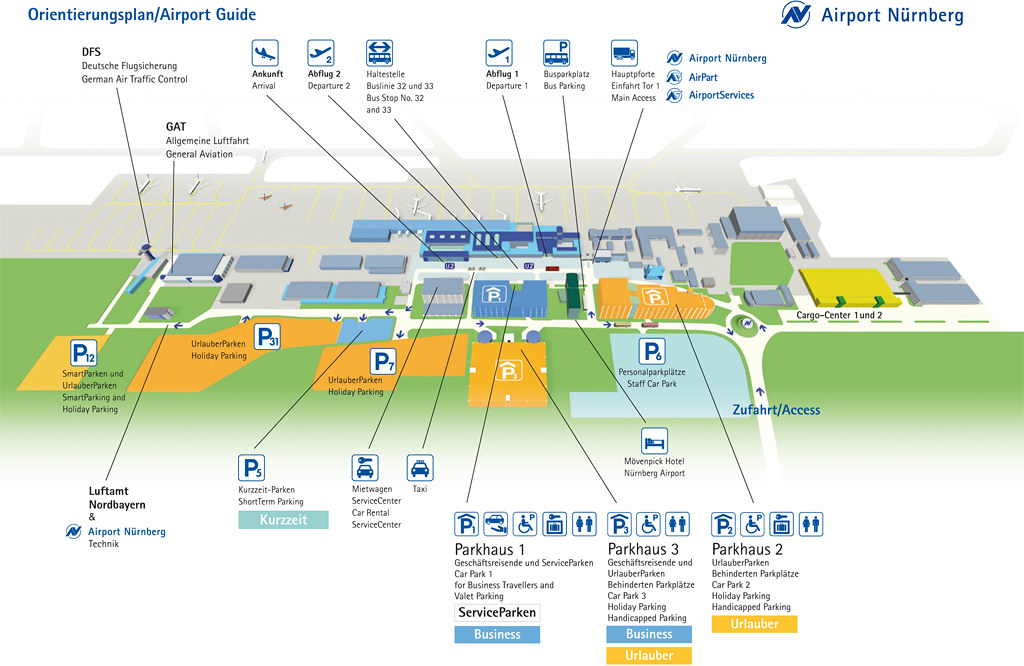 Parkplätze Frankfurt Flughafen