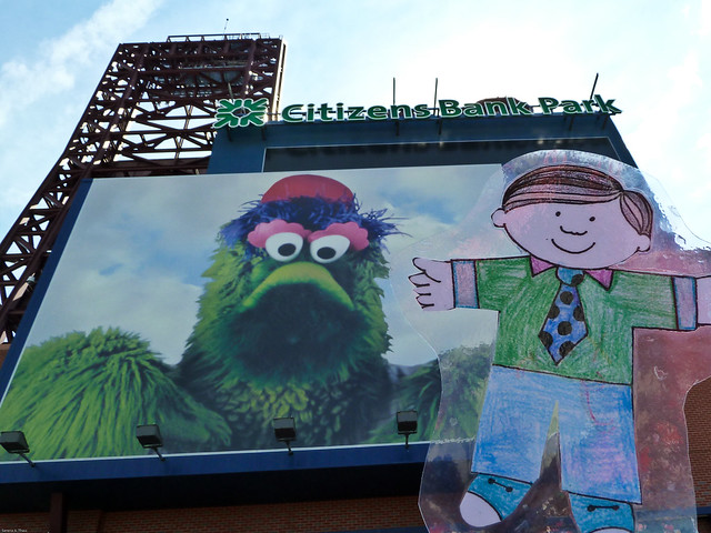 Flat Stanley at the Ballpark!