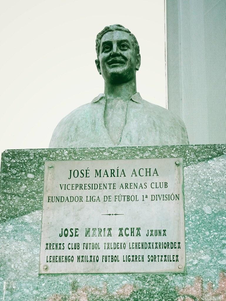 Jose Maria Acha | Hace 87 años, José María Acha Larrea