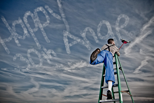 sky man clouds funny humor reach ladder dork 365 alienbee day30 skywriting cloudwriting beautydish michaelherb 204studiosphotography skyletters messageinsky