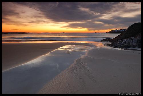 ocean beach sunrise sand massachusetts nikond50 manchesterbythesea manchesterma singingbeach justinsmith leefilters nikon1735mmf28