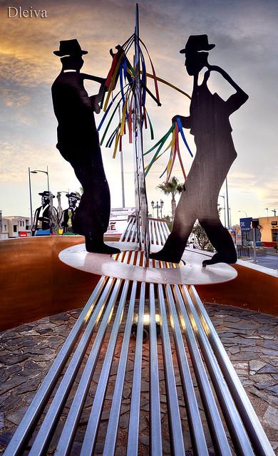 Vícar, Glorieta de la Cultura (Almería)