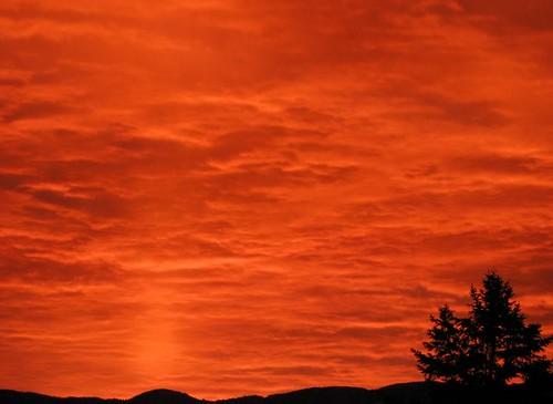 morning sky newmexico clouds sunrise spectacular fire albuquerque