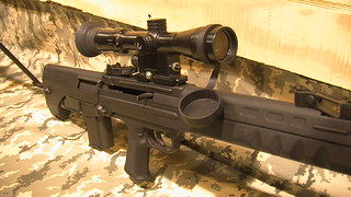 Closeup of Real Sword Type 97 Sniper AEG | by abcovey