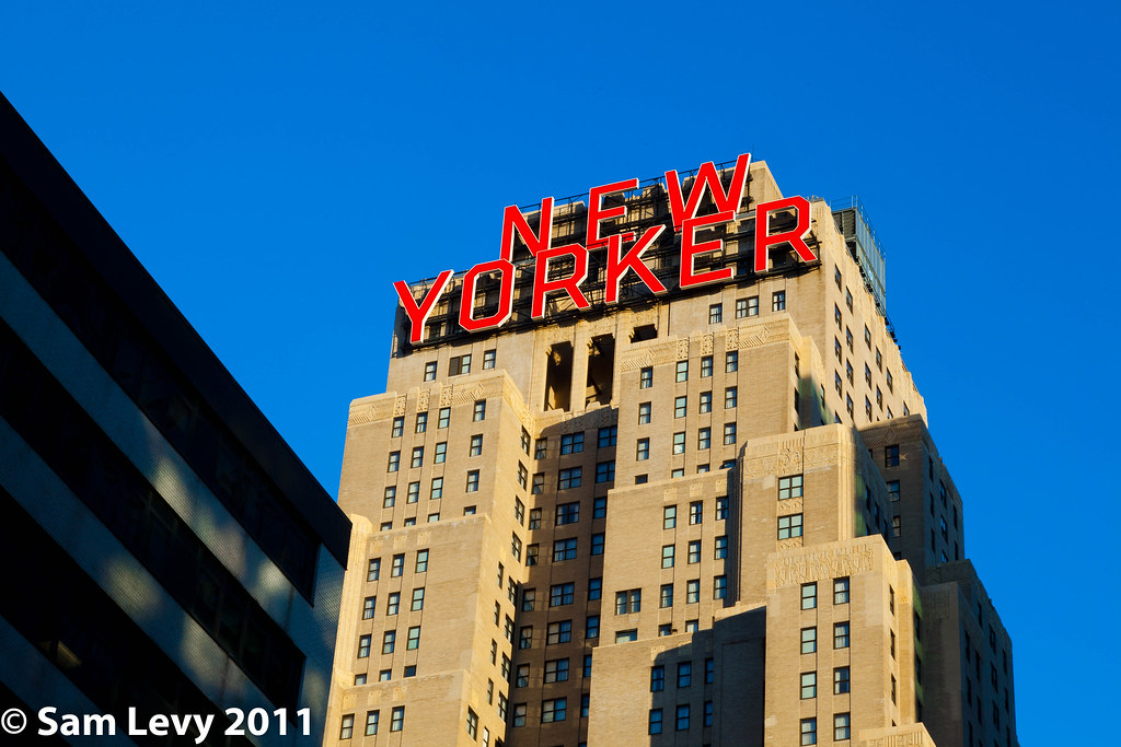 New Yorker Hotel The 43 Story New Yorker Hotel 481 Eighth Flickr