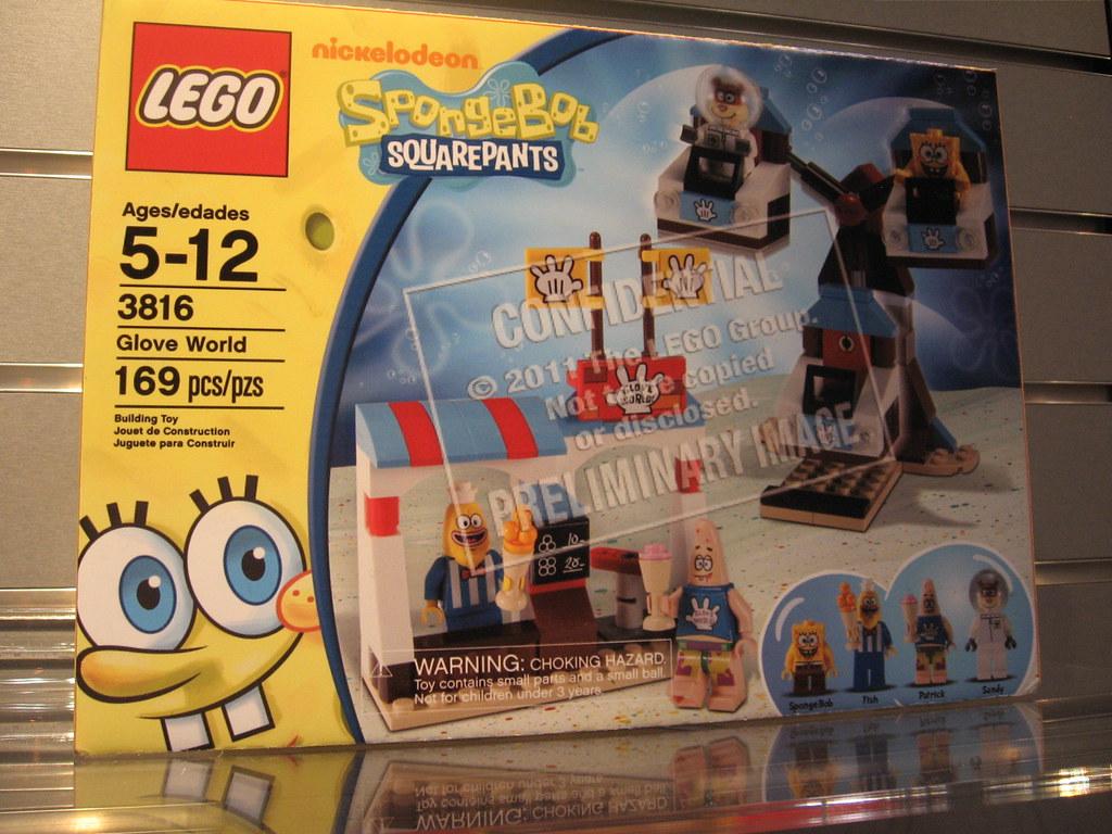 Glove World Spongebob
