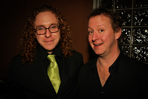 Henry Griffin aka Simply Red & Alex McMurray. Henry appears throughout Season One as Davis McAlary's friend.  In real life, Davis Rogan and Henry were members of the Young Men Olympian Benevolent Society's 5th Division, the Furious 5.