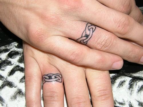 Wedding Ring Tattoo Designs Pi Pe Pỏng Flickr