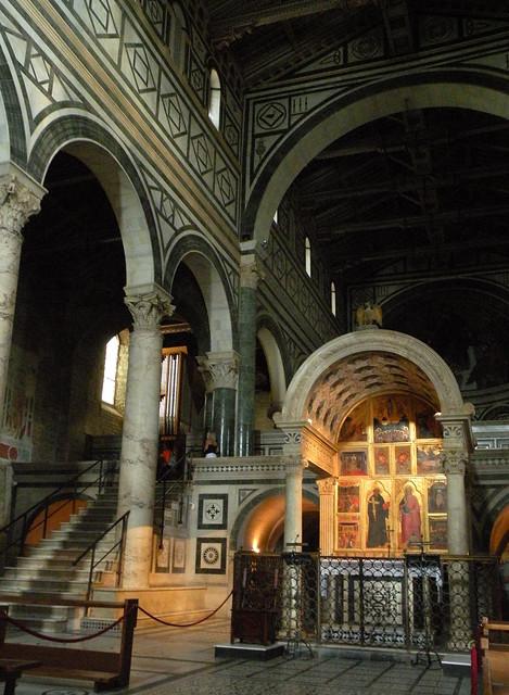 Interno della basilica di San Miniato al Monte