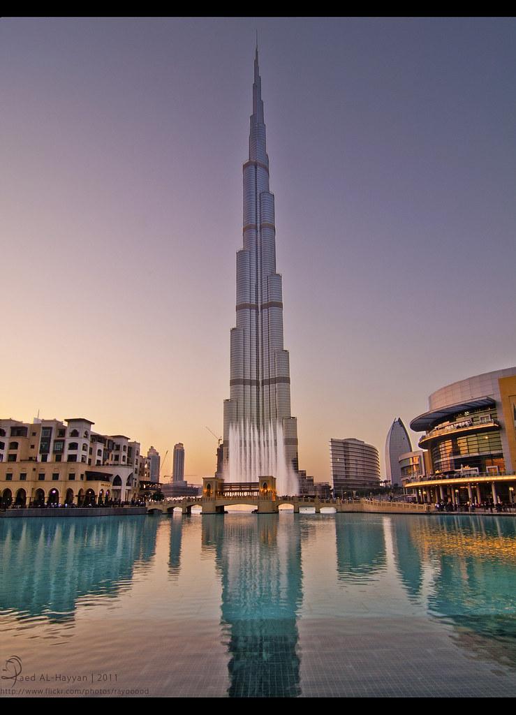 Burj Khalifa برج خليفه View On Black السلام عليكم و رحمة Flickr