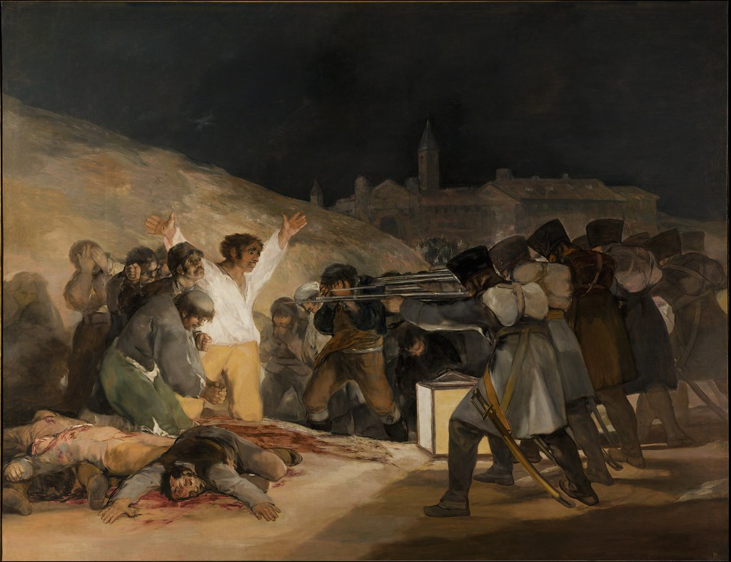 Goya - The 3rd of May 1808 in Madrid - [1814]