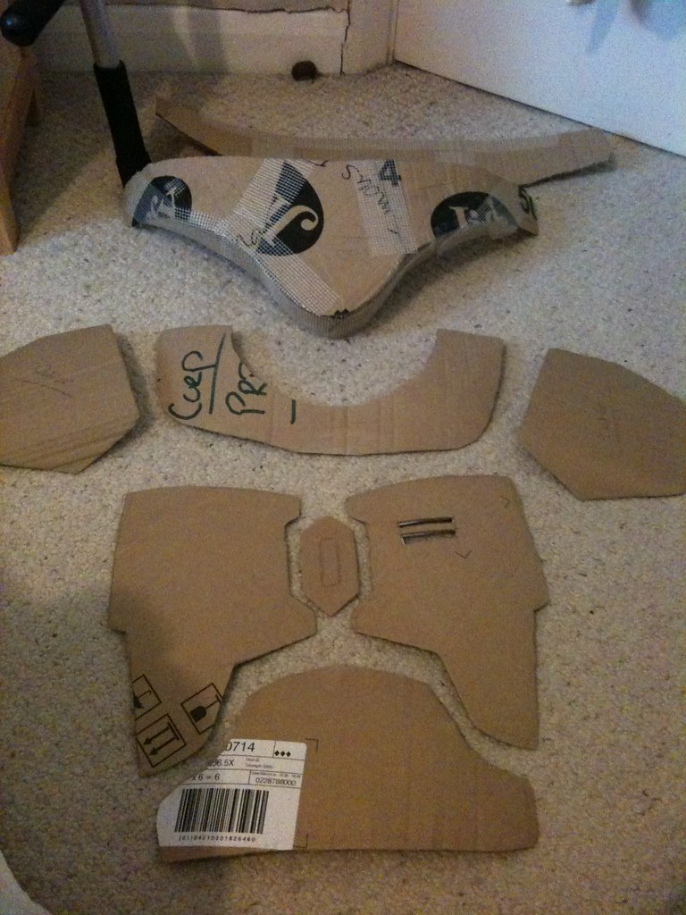 Mandalorian Armour Templates Nate Jangotat Flickr
