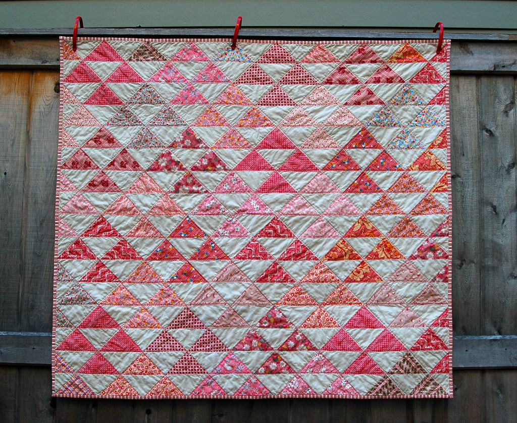 Pink Half Square Triangle Quilt Drurygirl Flickr,Strawberry Wine Song