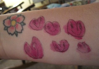 tattoos maggie gave me   by pinprick