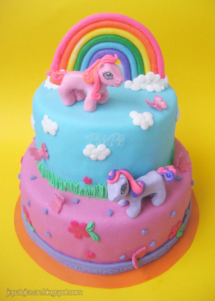My little pony cake   Pixie Pie   Flickr