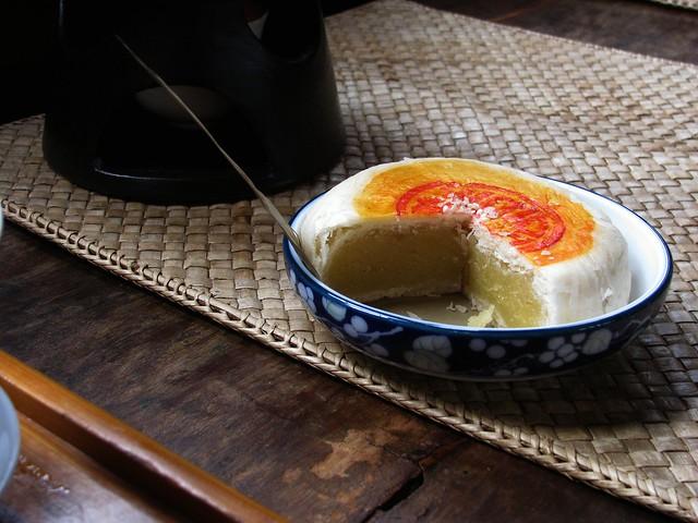 Mung Bean Mooncake