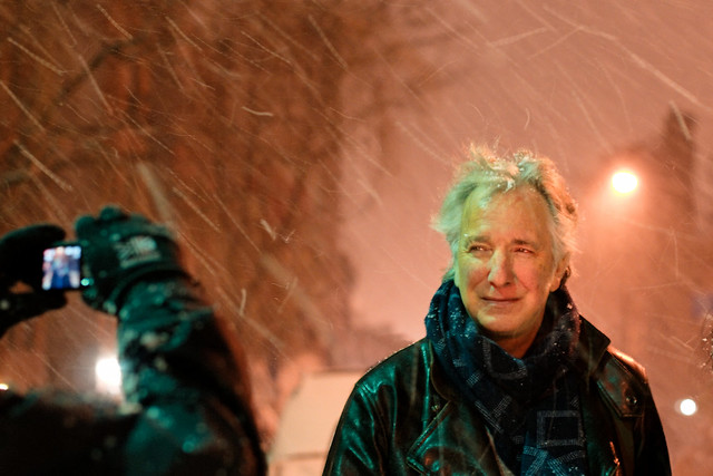 Alan Rickman at BAM #01 bis 'Into the storm'