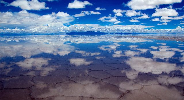 Surreal reflections, Salar de Uyuni