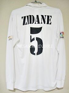 a9ab8b51d ... Real Madrid Home 2002 2003 Centenary ZIDANE 5