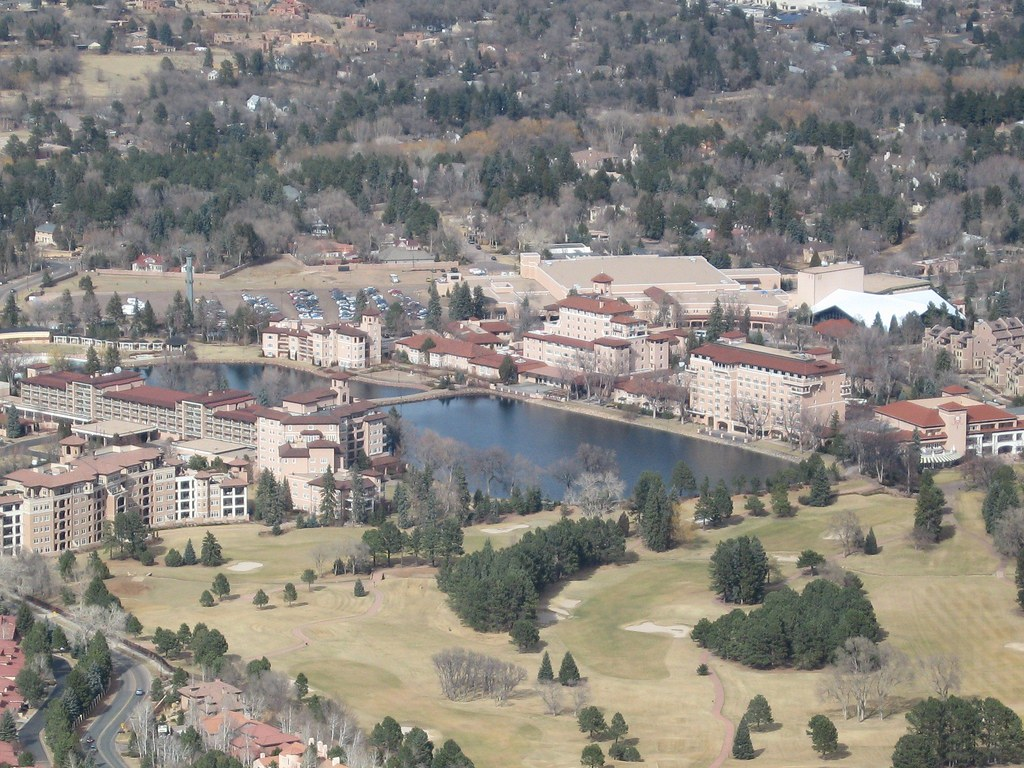 View of The Broadmoor