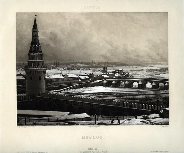Excursions Daguerriennes - Moscou, 1841
