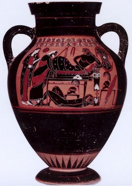 -0535: Príamo suplica a Aquiles por el cadáver de Héctor