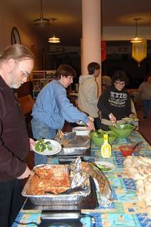 BLCF Cafe Community Dinner Outreach For Toronto's Homeless