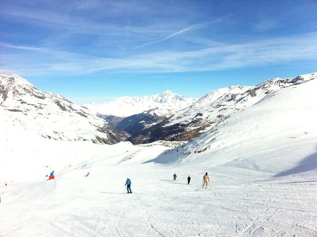 Mont blanc depuis Val d' Isère