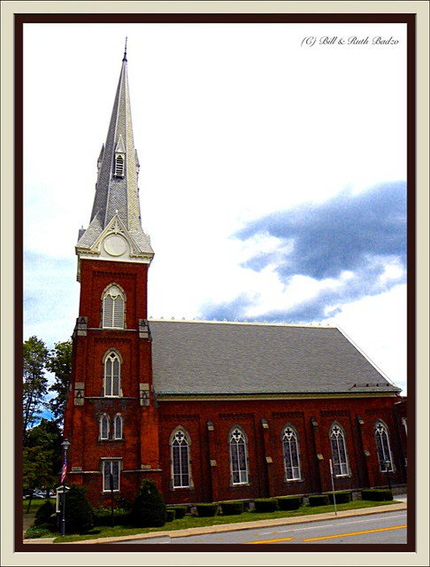 Westfield NY ~ First Presbyterian Church ~ 1871