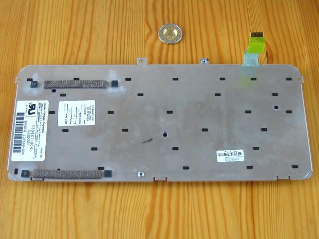 COMPAQ Contura Serie 2820 Notebooktastatur, Unterseite