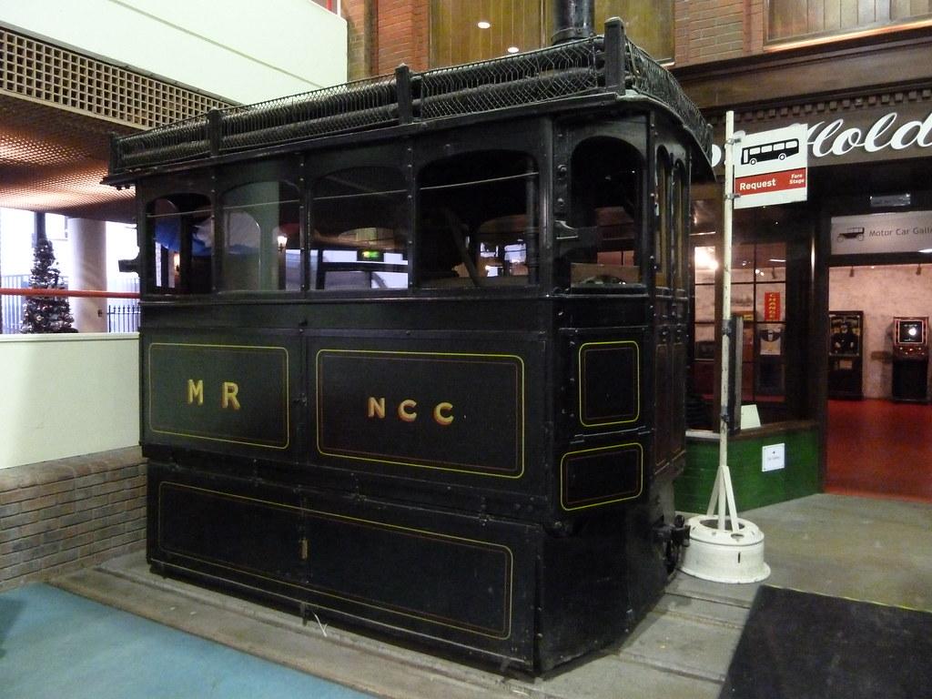 1882 Kitson Steam Tram Locomotive  Streetlife Museum Kingston upon Hull Yorkshire