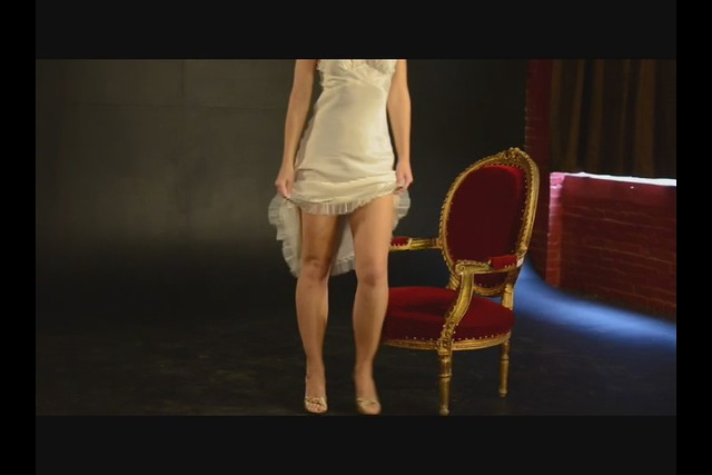 Video:  White Satin Slip II