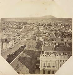 View of Sturt St Ballarat from above  (1882)