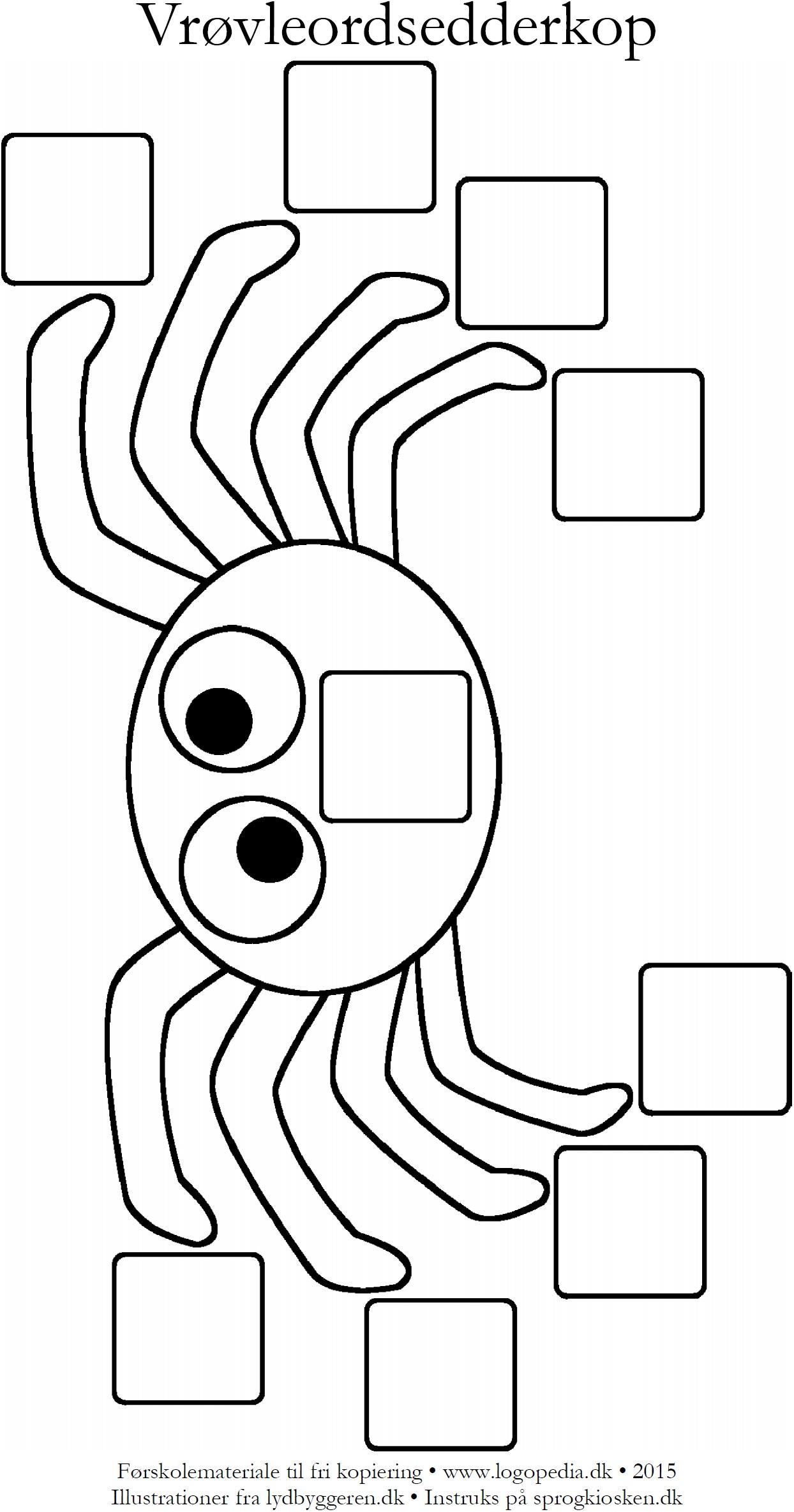 edderkop-skabelon