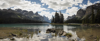 Maligne lake panorama | by Alf Branch