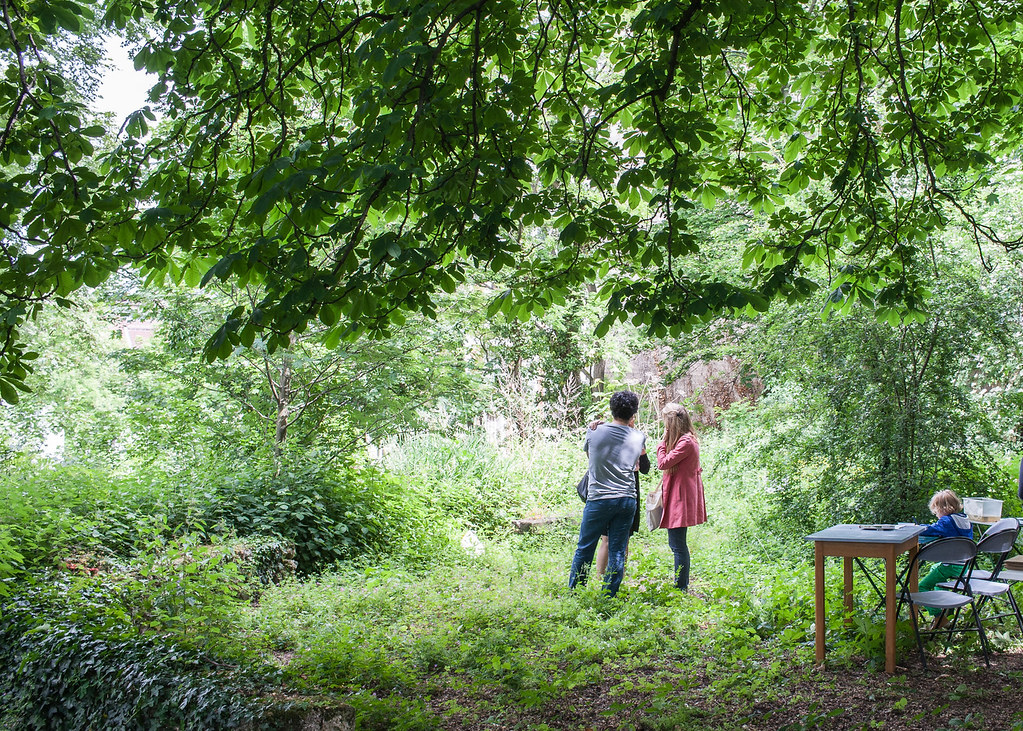 Jardin Sauvage Saint Vincent A Paris Guillaume Flickr