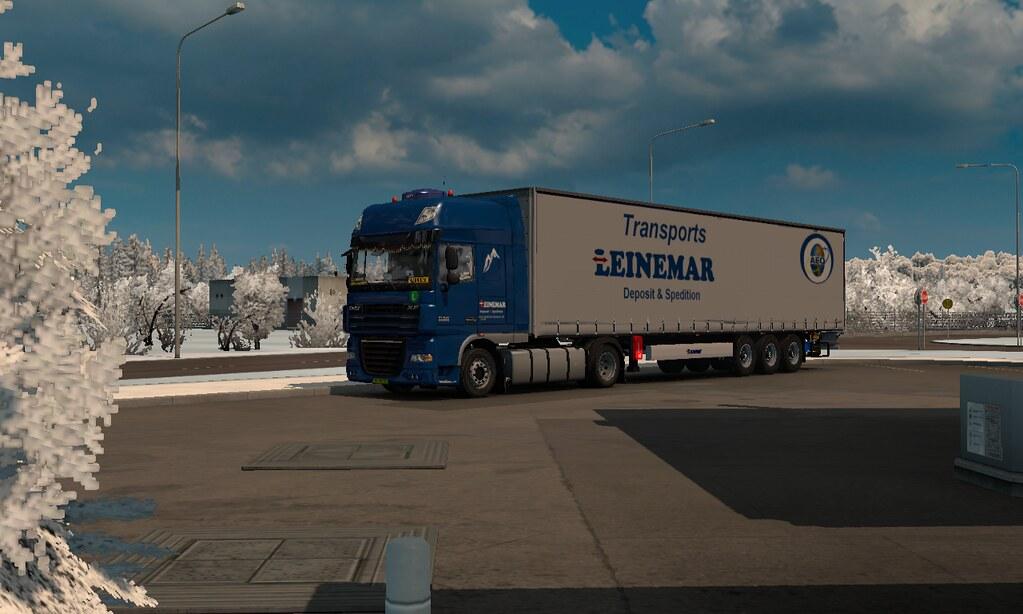 ETS2 1 26] daf xf 105 510 krone trailer DLc france | Flickr