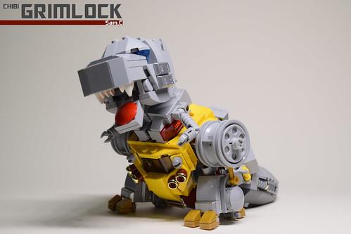 14. Grimlock Rex Front