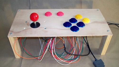 Arcade control panel prototype | by Daniel & Ericka