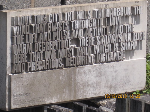 Wellington Writers' Walk - Patricia Grace | by shininglikeadiamond