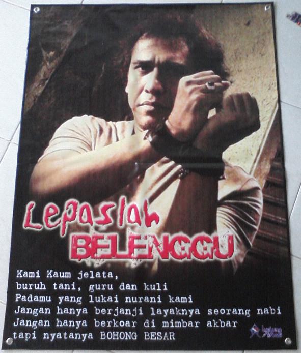 Poster Iwan Fals Code Lepaslah Belenggu Lumbung Kreasi Flickr