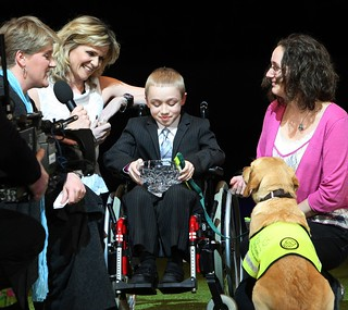 Crufts2010 Friends for Life with Clare Balding and Linda Barker