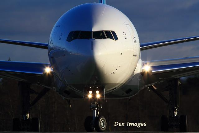 ZK-OKN Air New Zealand 777-319ER