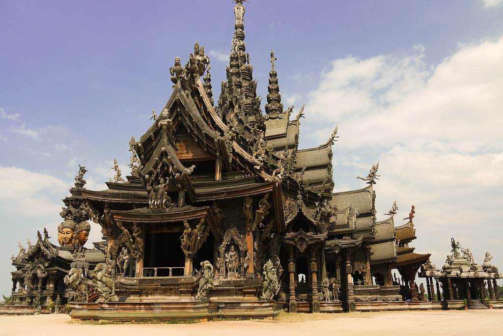 The Sanctuary of Truth in Pattaya