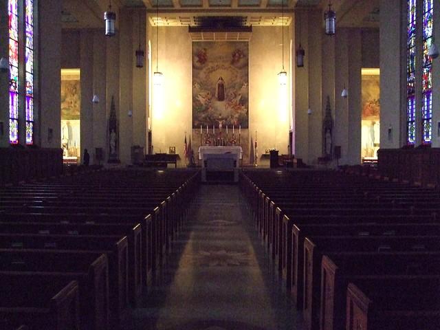 Shrine of the Little Flower Catholic Church, Baltimore, MD