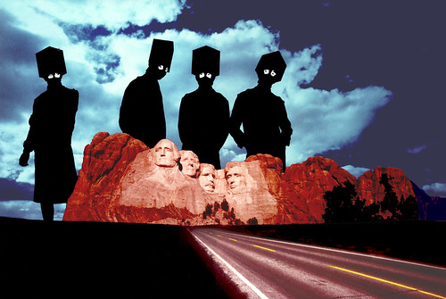 The Residents at Mount Rushmore(Photo Daytime Version)