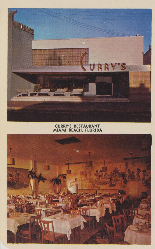 Curry S Restaurant Miami Beach Florida The Only Restau