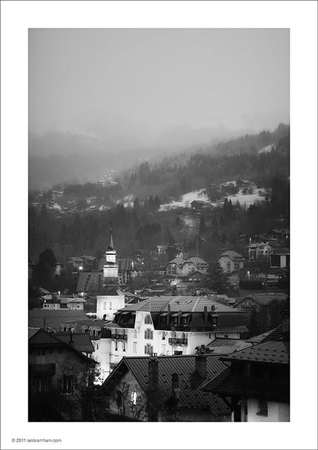Saint-Gervais-les-Bains at Dawn