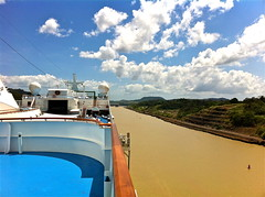 Panama Canal - Photo taken with my iPhone