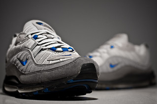 "Nike Air Max '98 ""Grey/Varsity Royal"" 